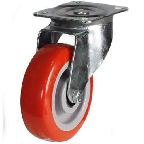 150mm Polyurethane On Nylon Centre Swivel Castor