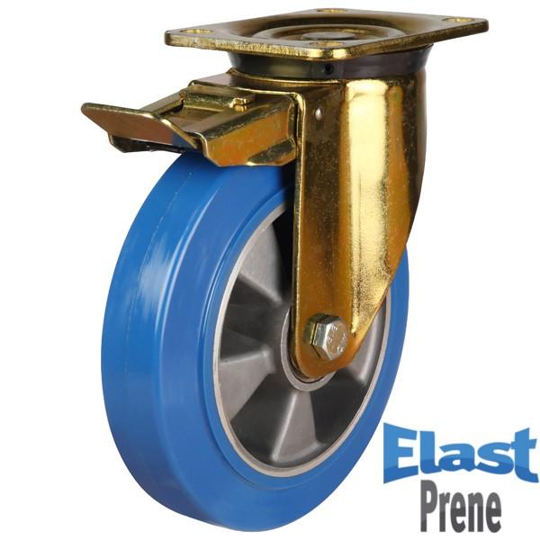 Heavy Duty Polyurethane On Aluminium Centre Brraked Castor