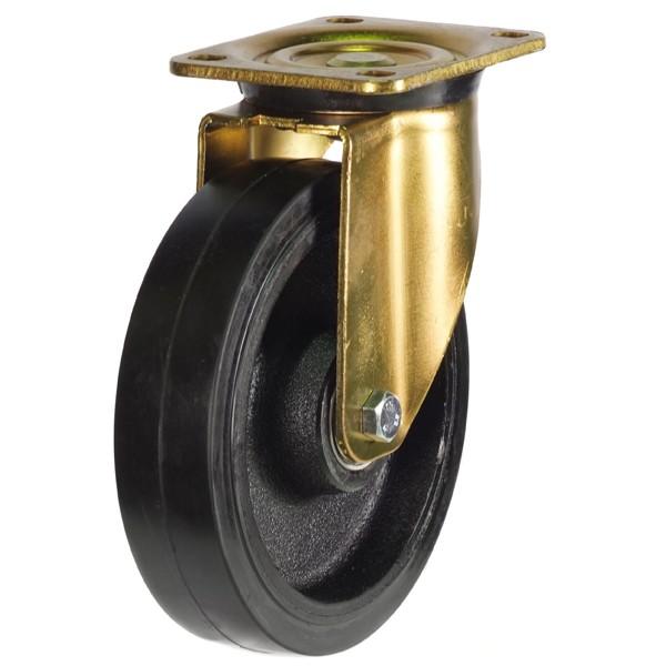 Polyurethane On Cast Iron Core Swivel Castor