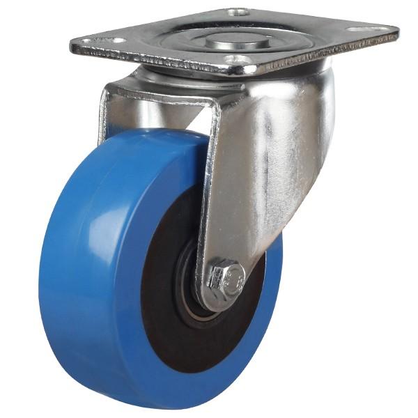 Elastic Polyurethane On Nylon Centre Swivel Castor