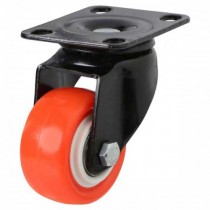 Polyurethane On Nylon Swivel Castors - Light Duty Castors