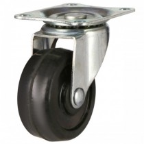 50mm Solid Rubber Swivel Castor