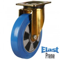 Heavy Duty Elastic Polyurethane On Aluminium Centre Swivel Castor