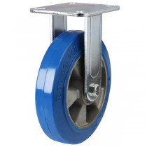 Heavy Duty Polyurethane On Aluminium Centre Fixed Castor