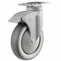 Light Duty Synthetic Non-Marking Swivel Castor