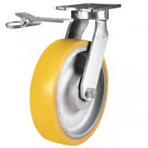 Ultra Heavy Duty Polyurethane On Cast Iron Core Directional Lock Castor