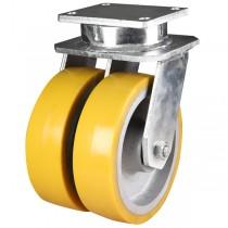 Ultra Heavy Duty Polyurethane On Cast Iron Core Swivel Castor