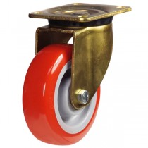 Buy Heavy Duty Polyurethane On Nylon Centre Swivel Castor