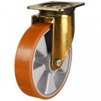 Polyurethane On Aluminium Centre Swivel Castor