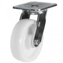 Medium to Heavy Duty Nylon Swivel Castor With Fabricated Bracket