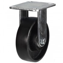 Heavy Duty Cast Iron Fixed Castors