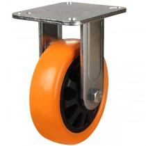 Heavy Duty Polyurethane On Nylon Centre Fixed Castor