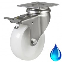 Buy Stainless Steel Braked Castors