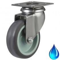 Stainless Steel Non-Marking Swivel Castor