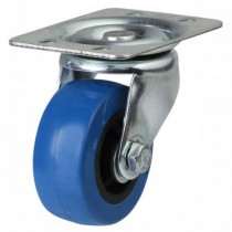 Light Duty Swivel Castor - Elasticated PVC Castor