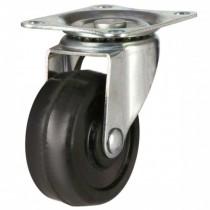 50mm Solid Rubber Swivel Castor