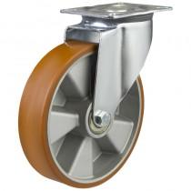 Medium Duty Polyurethane On Aluminium Centre Swivel Castor