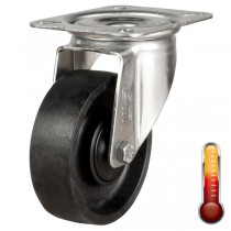 Medium Duty Stainless Steel Swivel Castor With Splash Guard